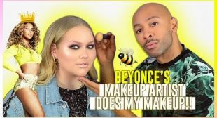 BEYONCE'S MAKEUP ARTIST DOES MY MAKEUP! | ft. Sir John