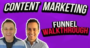 Content Marketing Funnel Walkthrough