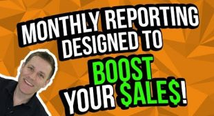 How To Design Your Monthly Reporting [To Boost Sales]