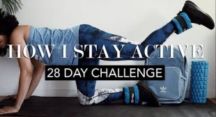 How to Stay Fit When You're Busy    28 Day Challenge