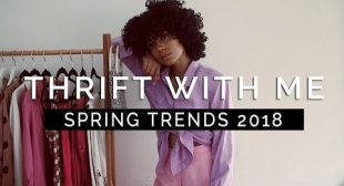 THRIFT WITH ME ✨Spring Trends + TRY-ON HAUL