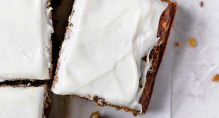 Banana Zucchini Cake with Cream Cheese Frosting