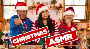 Christmas ASMR with My Parents | Christmas Special 2017