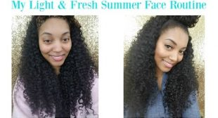{Fab Friday} My Light & Fresh Summer Full Face Routine *talk through*