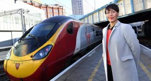 From customer services to people director for Natasha Grice at Virgin Trains