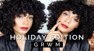 Holiday GRWM + HELP ME CHOOSE AN OUTFIT!