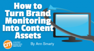 How to Turn Brand Monitoring Into Content Assets