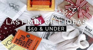 LAST MINUTE GIFT IDEAS $50 & Under + GIVEAWAY!