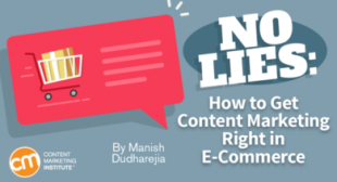 No Lies: How to Get Content Marketing Right in E-Commerce