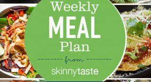 Skinnytaste Meal Plan (June 25-July 1)