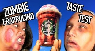 Starbucks Zombie Frappucino | Taste Test