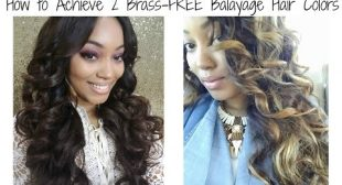 {Tutorial} How to Achieve 2 Brass-FREE Balayage Hair Colors