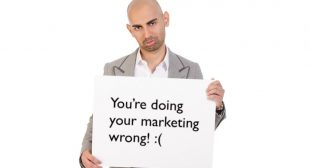 You Are Doing Your Marketing Wrong (and I Have the Data to Prove It)