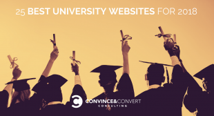25 Best University Websites for 2018