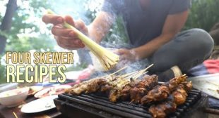 Four Incredible Skewer Recipes for Your Next BBQ
