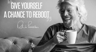 Give yourself a chance to reboot