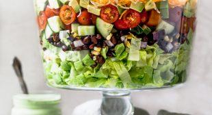 Mexican Shrimp Cobb Salad
