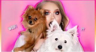 MY DOGS PICK MY MAKEUP!! | NikkieTutorials