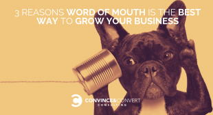 3 Reasons Word of Mouth is the Best Way to Grow Your Business