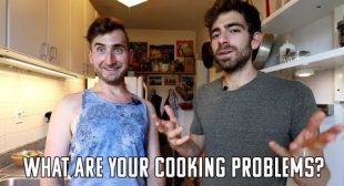 Send us your cooking failures and struggles and we will help