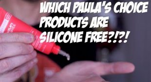 YOUR COMPLETE GUIDE TO SILICONE FREE PAULA'S CHOICE PRODUCTS