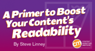 A Primer to Boost Your Content's Readability