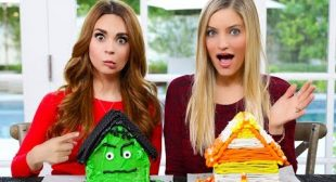 Gingerbread House Decorating Challenge! – HALLOWEEN EDITION ft iJustine!