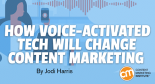 How Voice-Activated Tech Will Change Content Marketing