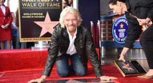 Joining the Hollywood Walk of Fame and launching Virgin Fest