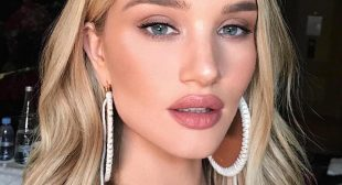 Rosie Huntington-Whiteley Confesses to Using FaceTune to Edit Her Selfies
