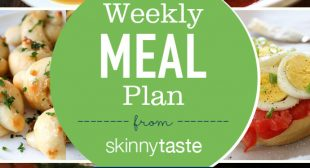 Skinnytaste Meal Plan (October 15-October 21)