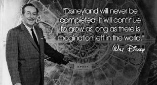 50 Inspirational Walt Disney Quotes