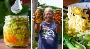 Dad's Fridge Pickled Chili Peppers