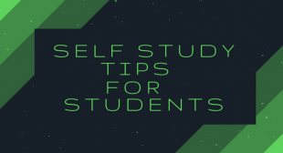 How to Develop the Habit of Self-Study