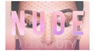 HUDA THE NEW NUDE EYESHADOW PALETTE! REVIEW & DEMO!