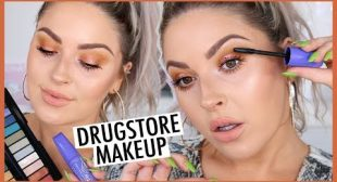 Simple Glowing DRUGSTORE Makeup & HUGE Lashes! 💕💣 ft Rimmel London