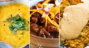 Simply Recipes 2018 Meal Plan: November Week 2