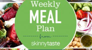 Skinnytaste Meal Plan (November 5-November 11)