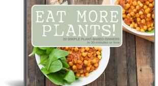 The free Eat More Plants! cookbook