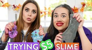TRYING $5 SLIME KITS ft Miranda Sings!