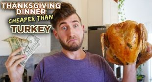 What you can cook for the price of a TURKEY – a Vegetarian Feast