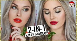 2 in 1 CHRISTMAS GRWM! ☃️ *Old School* 🎄 Quick, Easy & Simple!
