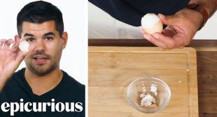 50 People Try to Peel a Hardboiled Egg   Epicurious