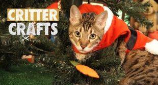 Critter Crafts | Cat-mas Tree