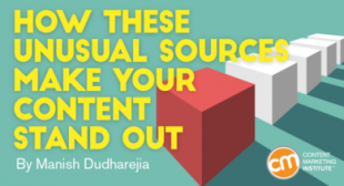 How These Unusual Sources Make Your Content Stand Out