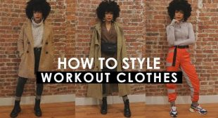 HOW TO STYLE: Workout Clothes Outside of the Gym! WINTER LAYERING!