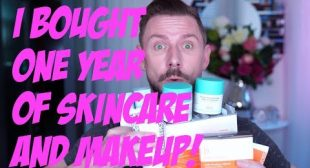I BOUGHT ONE FULL YEAR OF SKIN CARE AND MAKEUP!