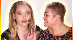 MY MOM DOES MY MAKEUP!