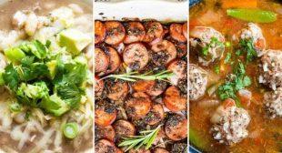 Simply Recipes 2019 Meal Plan: January Week 1
