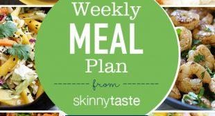 Skinnytaste Meal Plan (December 17-December 23)